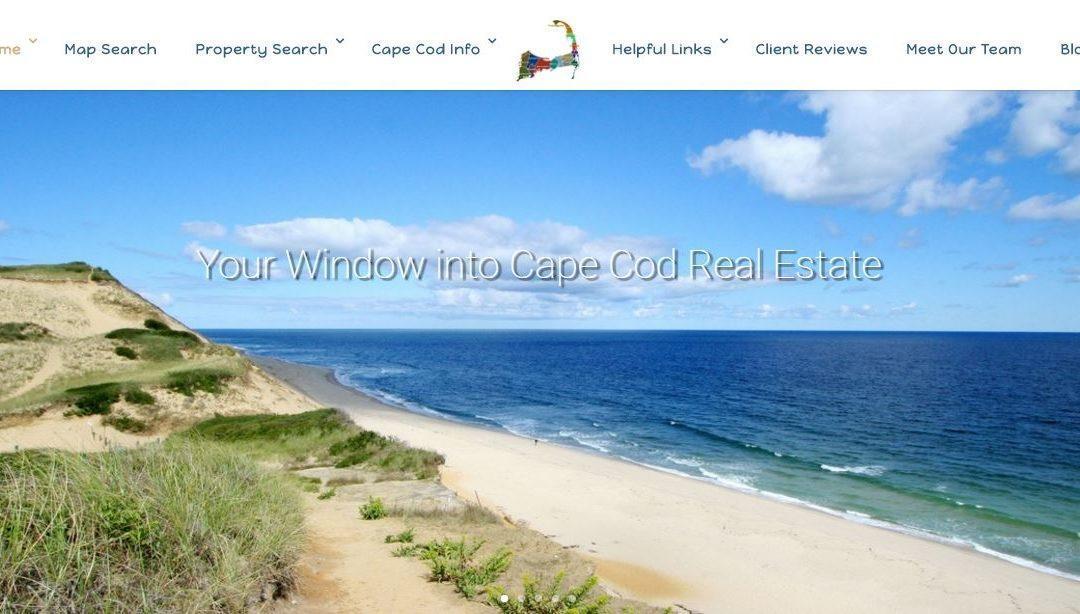 Redesigned Website for OnCapeRealEstate.com