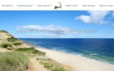 Redesigned Website for OnCapeRealEstate.com